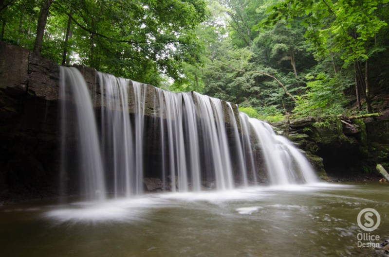 Great Gully, Upper Falls 2
