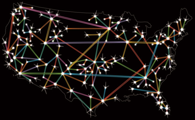 Comcast Network Map