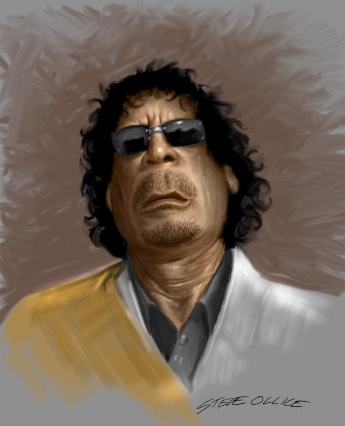 Muammar Gaddafi 5