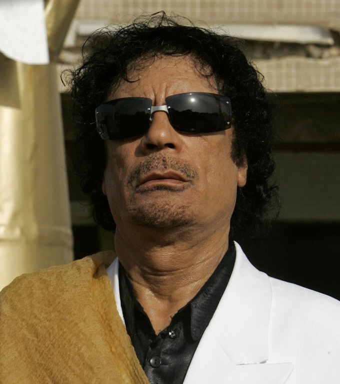Muammar Gaddafi Source