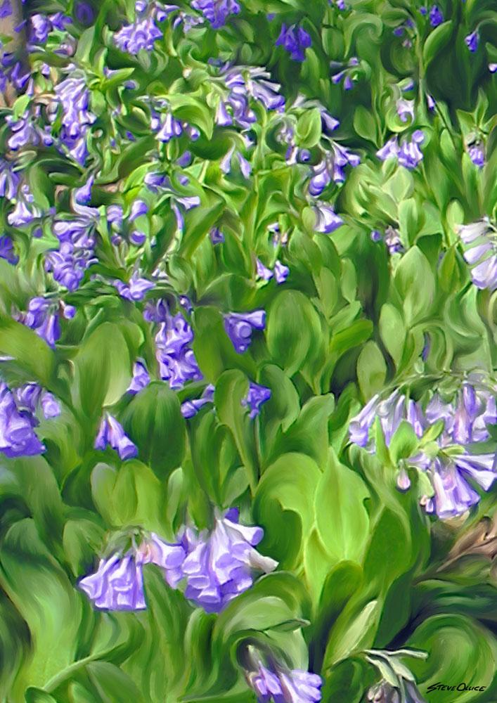 Bluebells Painting Teaser