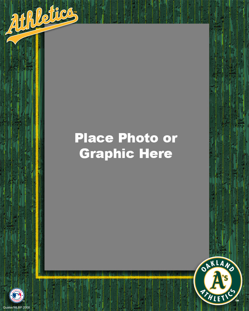 Oakland Atheletics Photo Template