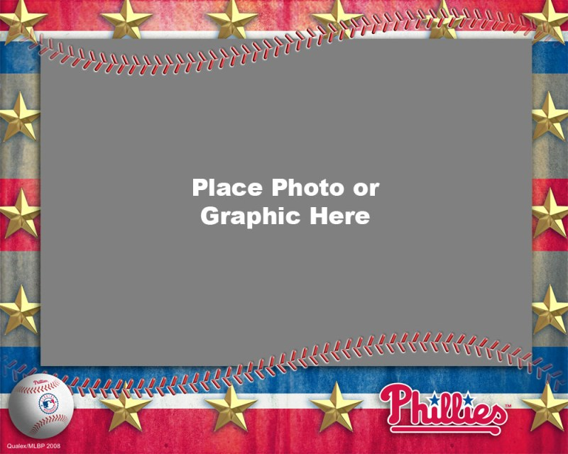 Philadelphia Phillies Photo Template