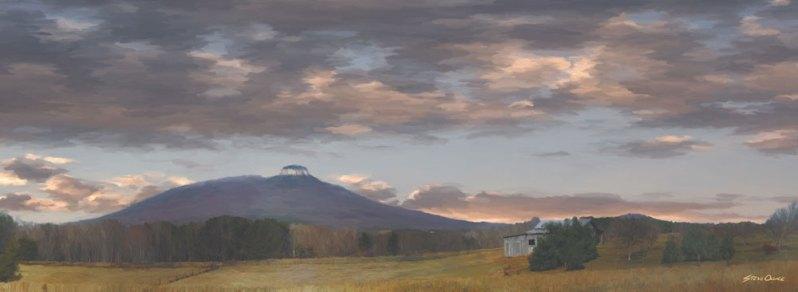 Pilot Mountain Painting