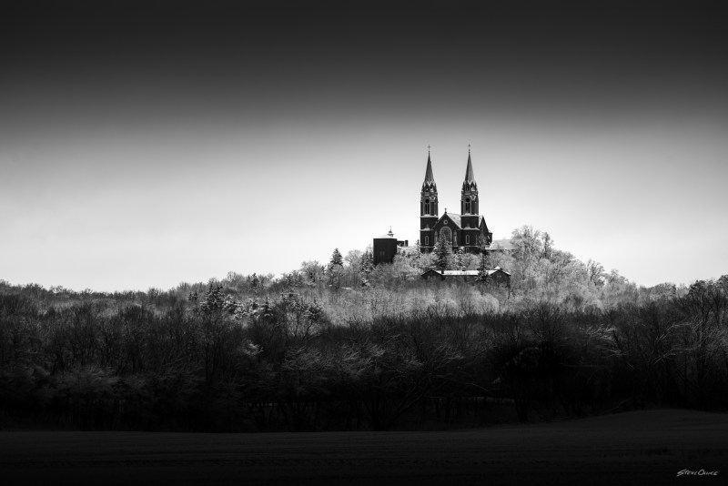 Holy Hill on a cold day