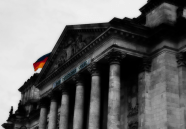 Photo of the Reichstag Building, Berlin, Germany. | 16-Apr-00.