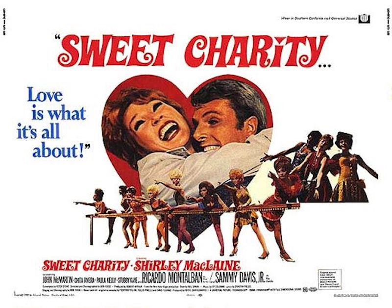 Sweet Charity Lobby Card