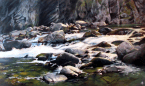 "In the Canyon 36"" x 60"""