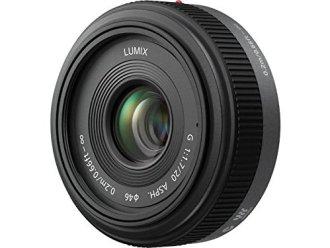 Panasonic Lumix G H-H020 20mm f/1.7 Aspherical Pancake Lens for Micro Four Thirds Interchangeable Digital SLR Cameras