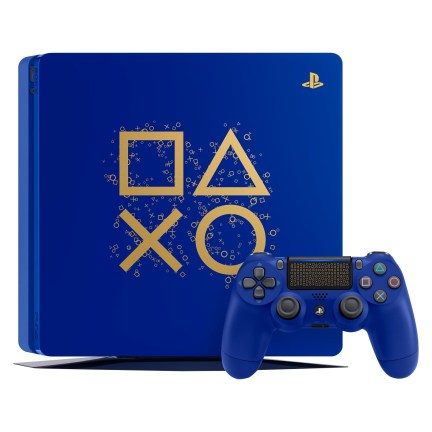 ps4 limited editing in blue 1 TB hard drive