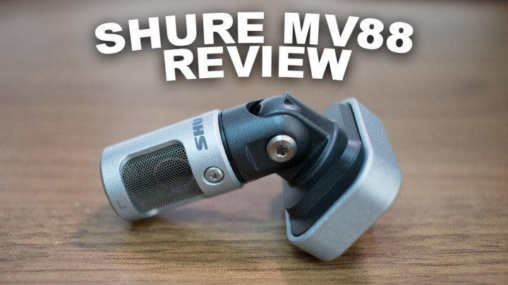 Shure mv88 review. Iphone microphone review