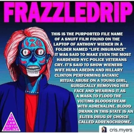 frazzledrip video hrc and Huma aibden on Anthony Weiner's laptop