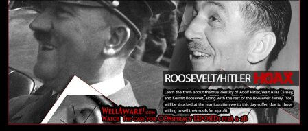 Hitler is Walt Disney played by Kermit Roosevelt