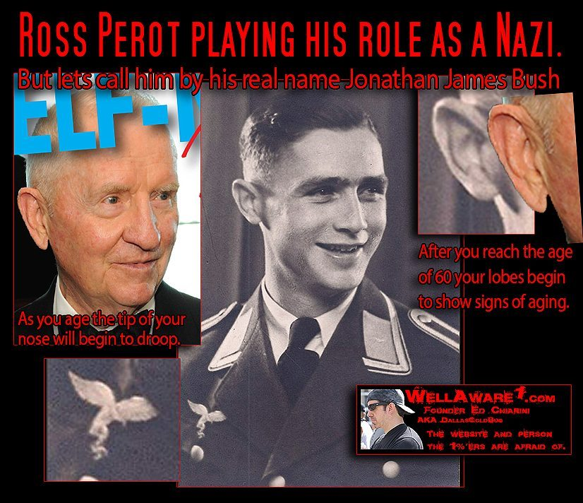 Ross Perot played the role of a Nazi when he was young