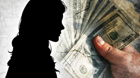 Child trafficking survivor Katie Groves speaks out