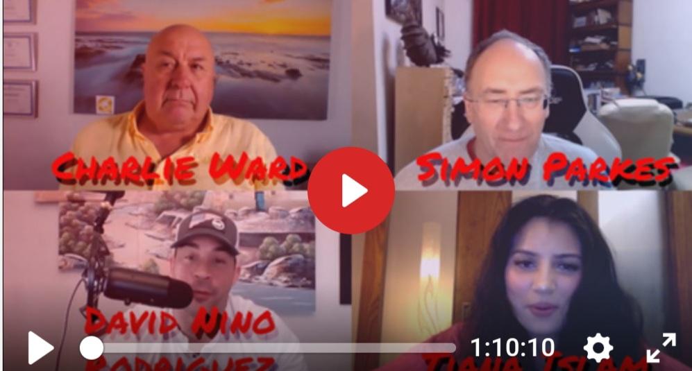 Dr. Charlie Ward and Simon Parkes fake