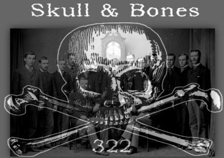 skull and crossbones society George bush