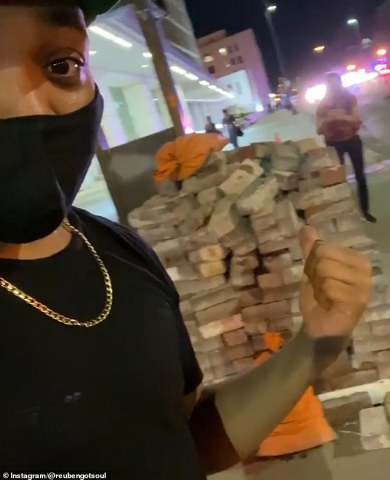 Social media users have been uploading photos of bricks located near protest sites, claiming that the construction materials have been planted to entrap protestors.