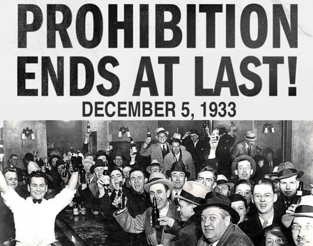 The Eighteenth Amendment (1919) prohibited the making, transporting, and selling of alcoholic beverages nationwide. It also authorized Congress to enact legislation enforcing this prohibition. Adopted at the urging of a national temperance movement, proponents believed that the use of alcohol was reckless and destructive and that prohibition would reduce crime and corruption, solve social problems, decrease the need for welfare and prisons, and improve the health of all Americans. During prohibition, it is estimated that alcohol consumption and alcohol related deaths declined dramatically. But prohibition had other, more negative consequences. The amendment drove the lucrative alcohol business underground, giving rise to a large and pervasive black market. In addition, prohibition encouraged disrespect for the law and strengthened organized crime. Prohibition came to an end in 1933, when this amendment was repealed.