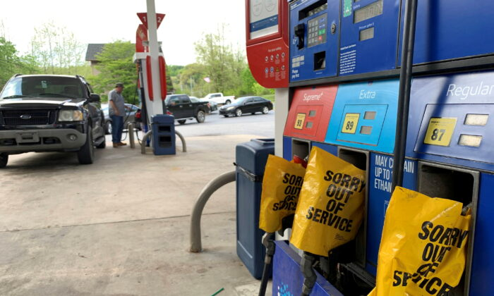 More gas stations were out of fuel in Florida, Maryland, South Carolina, Tennessee, and Mississippi early May 13 compared to the night of May 12, 2021, according to GasBuddy.