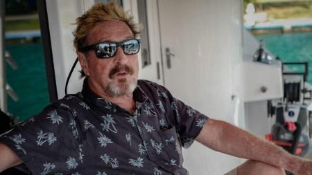 John mcafee found dead