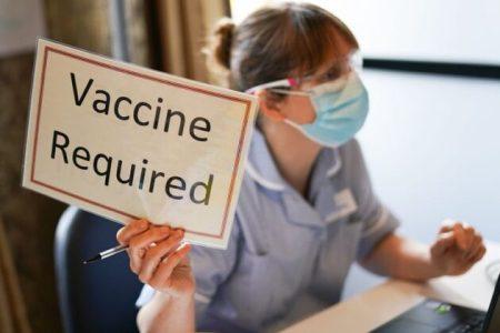 doj mandatory covid vaccines