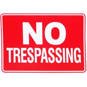 """""""I'm glad that this is an issue, and I want to urge all the viewers to go out and buy 'No Trespassing' signs at the local hardware store – """"No solicitor"""" signs. Affix them to your front doors, put them right out by your front stoop, end of your driveway, because the government has zero business to do this, zero right. And what they're wanting all of us to do is to check our Bill of Rights, our civil liberties, at the door,"""" she said."""