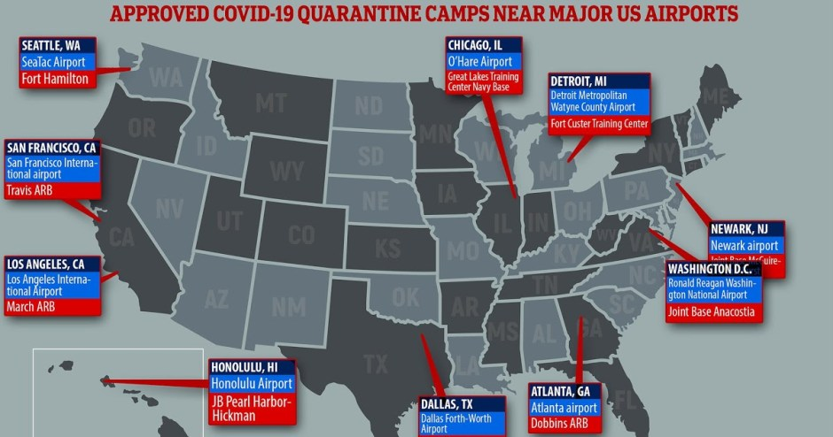FEMA Concentration Camps for the unvaccinated (and even vaccinated) may be coming; camps are already built and waiting to be populated. FEMA camps are called Green Zones by government.
