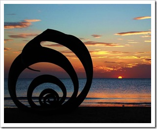 cleveleys sunset