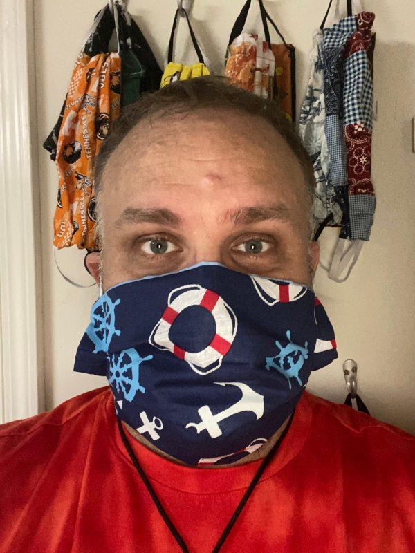 Nautical face mask