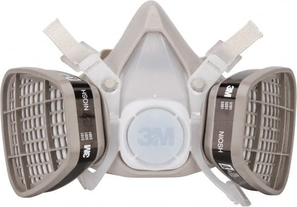 Filtering Respirators Masks These are similar to the N95 Masks, as described above. But these are much bulkier and have filters usually on the sides. These filters need to be changed on a regular basis. Usually used in construction or where harsh chemicals are used. This is form fitting too and usually has a seal to the users face.