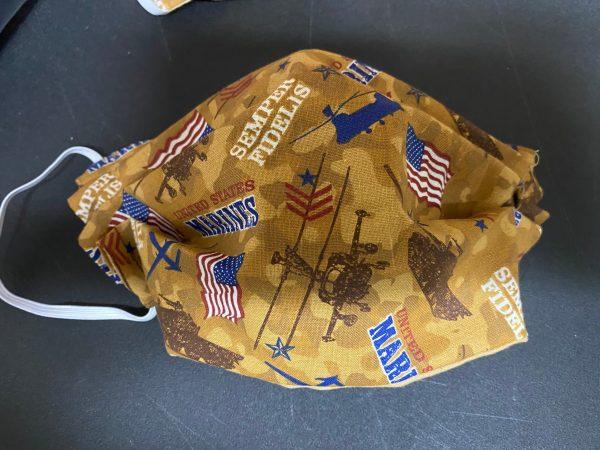 Marine Face Mask #USMC