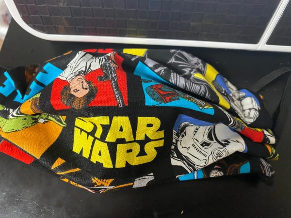 Star Wars Face Mask - Here is another Star Wars themed face mask. #StarWars