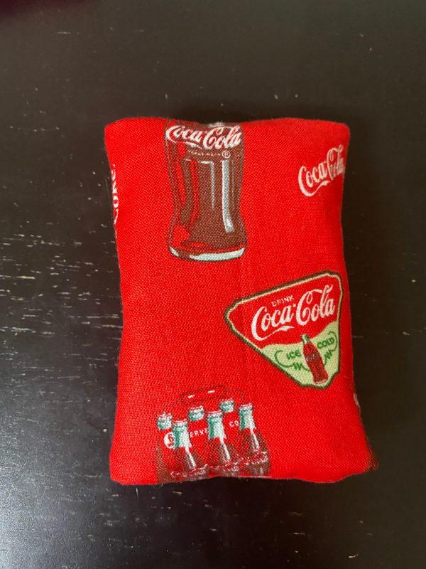 Coca-Cola Pocket Tissue Holder - Hold your pocket tissue in this Coca-Cola holder. #Coke #Coca-Cola