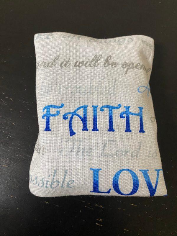 Faith, Hope Love Pocket Tissue Holder - A faith based pocket tissue holder based on Faith, Hope and Love. #Faith #Hope #Love