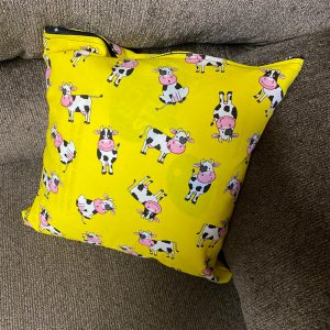 Holstein Cow Decorative Pillow