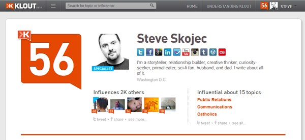 Think That Klout Doesn't Matter? Think Again.