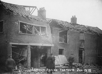 Pestell's Buildings seen on 20th January 1915.