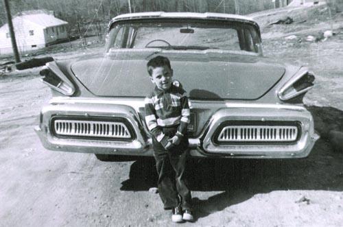 Steve at age 6