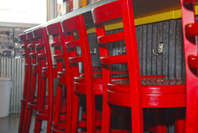 steves red chairs