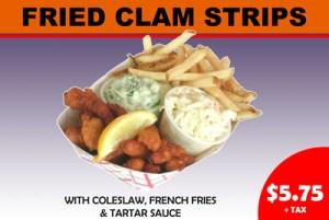 Steve's Fried Clam Strips