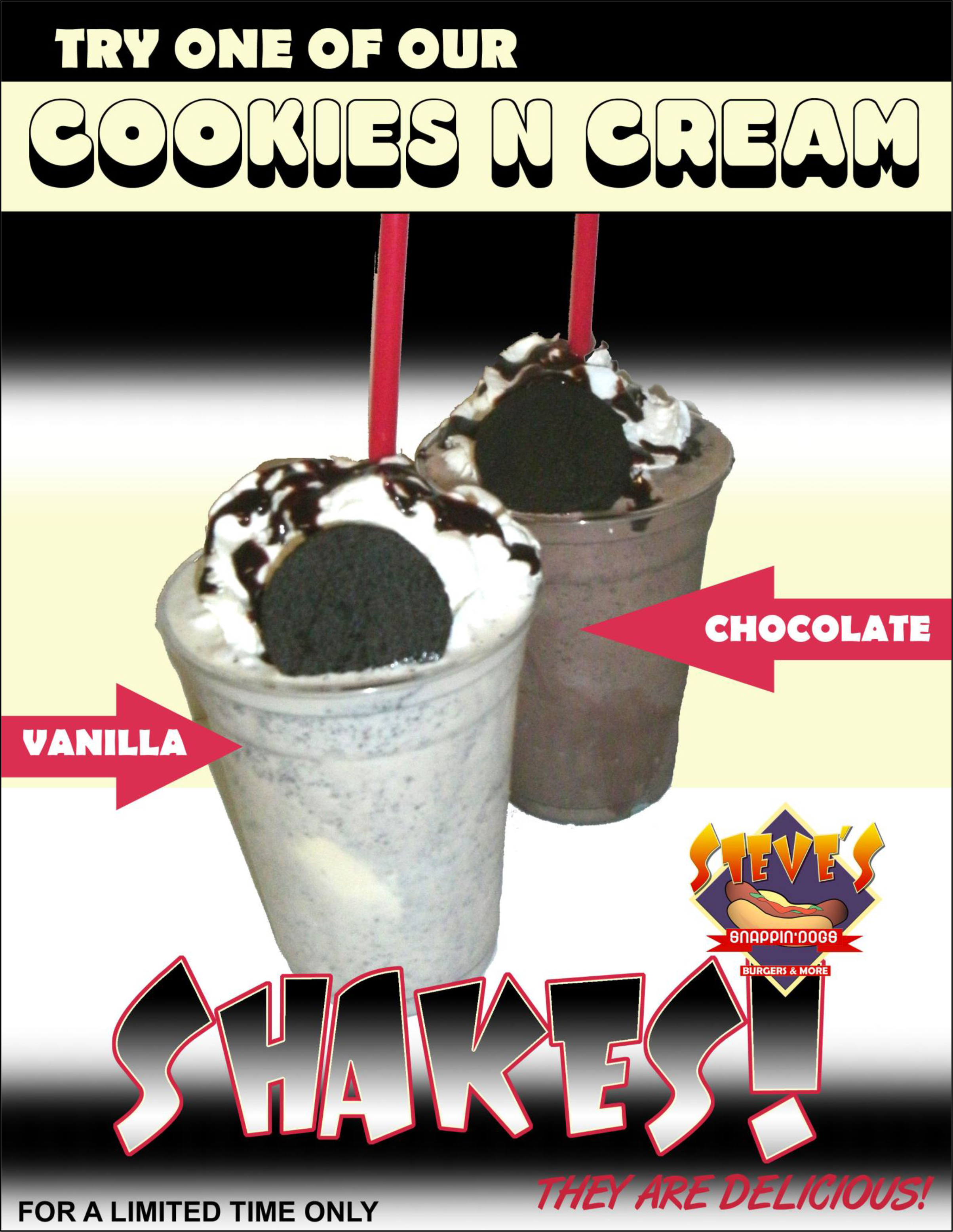 Shake of the Month: Cookies n Cream