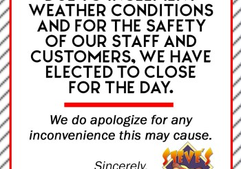 SSD Graphic for Inclement weather