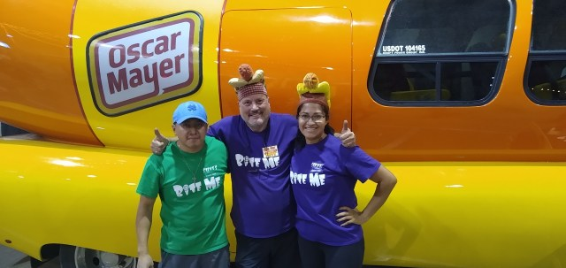 Oscar Meyer Wiener Mobile at the Denver County Fair