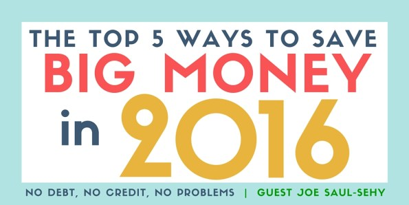 Top 5 ways to save money