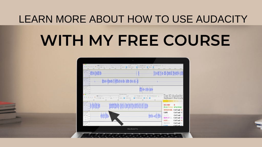 LEARN HOW TO USE AUDACITY COURSE