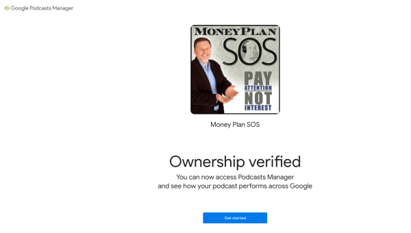 submit-podcast-to-Google-step-5-ownership-verified