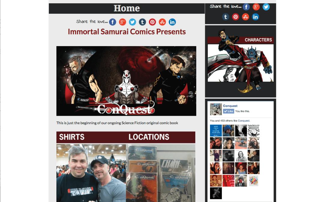 Immortal Samurai Comics