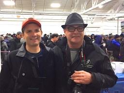 SHA Board Chairman, Robert Kiesman and SHA General Manager, Bob Baziuk at the 2015 Fishermen Helping Kids With Cancer Herring Sale