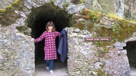 Phoebe breaks out of the Blarney Castle Dungeon